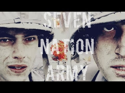 The Pacific  Seven Nation Army  Rami Malek & Joseph Mazzello