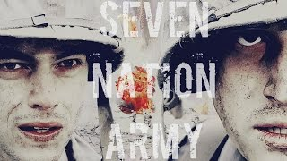 The Pacific   Seven Nation Army   Rami Malek & Joseph Mazzello