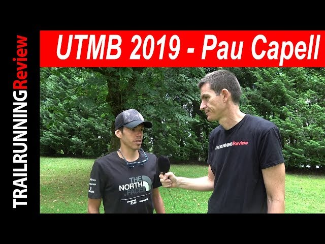 UTMB 2019 - Pau Capell -