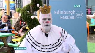 David Farrell with Puddles Pity Party