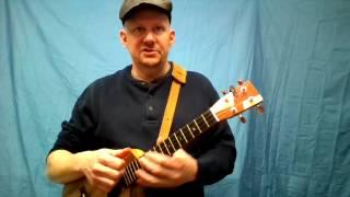 MUJ:  Chelsea Dagger - Fratellis (ukulele tutorial)