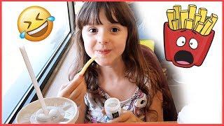 Download lagu I pastrocchi di Alyssa al McDonald's 🤣 Patatine e Actimel??