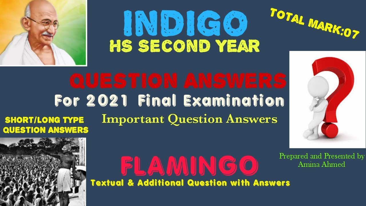 Question Answers :: Important For 2021::Textual and ...