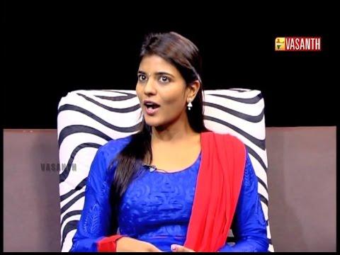 Ishwaryam(1)   Interview with Aishwarya   Rummy   Diwali Special   22 OCT 14   Vasanth TV