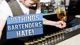10 Things Bartenders Hate | ThePrenti
