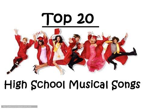 My Top 20 | High School Musical Songs