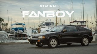 Original Owner Honors His Original Honda CRX