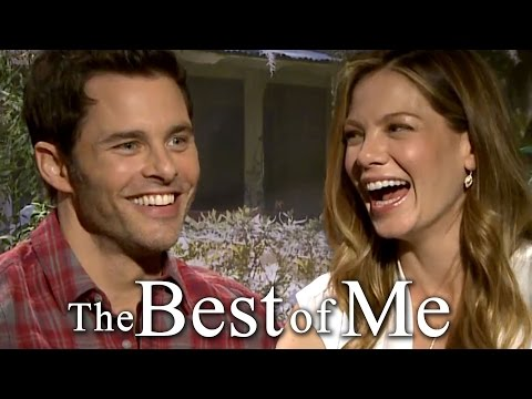 James Marsden & Michelle Monaghan Sing a Duet & Play Trivia - Best of Me Interview