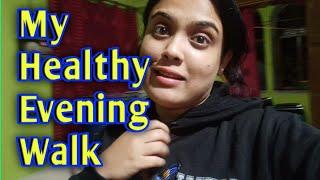 Фото The Evening Vlog🤪 || My Healthy Walking Tour👣【हिंदी】|| 5 Evening Walk Benefits