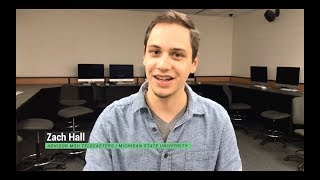MICHIGAN STATE UNIVERSITY STUDENT ADVISOR TALKS ABOUT MSU TELECASTERS