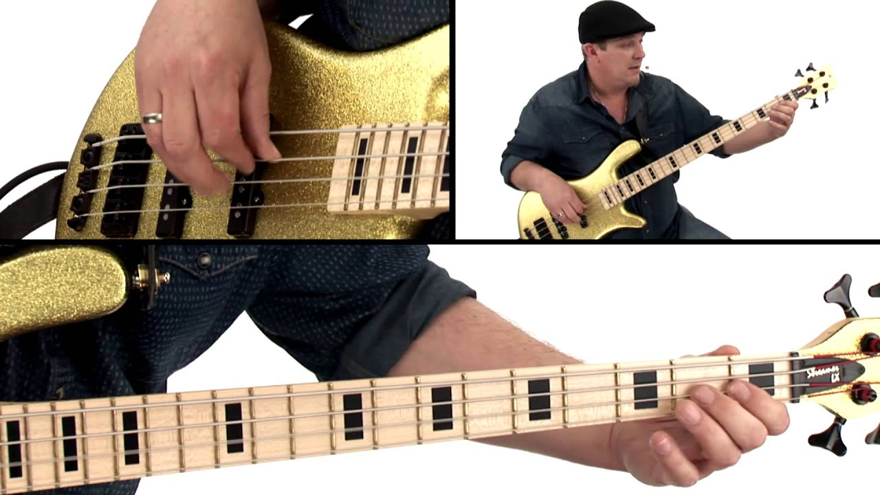 Download Bass Guitar Lesson - Fast Finger Funk - Andy Irvine