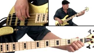 �������� ���� Bass Guitar Lesson - Fast Finger Funk - Andy Irvine ������