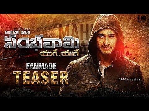 Mahesh Babu's Sambhavami Yuge Yuge Movie Fan Made Teaser |  #Mahesh23