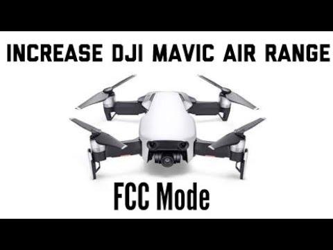 DJI Mavic Air FCC 2 minutes tutoria lusing the updated DJI GO 4 APP  6/20/2018