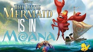THE LITTLE MERMAID IS IN MOANA?! MOANA THEORY