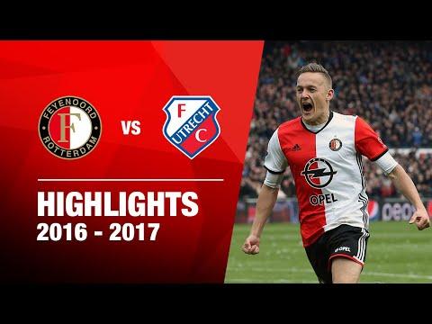 Samenvatting Feyenoord - FC Utrecht 2016-2017