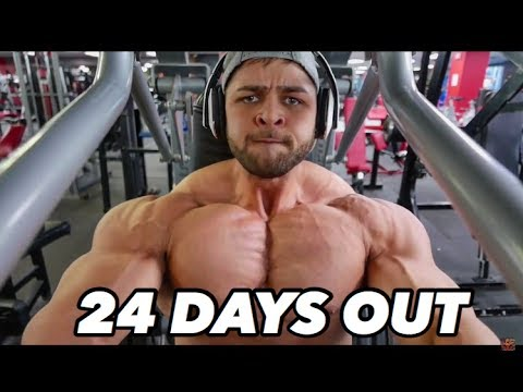 BODYBUILDING MOTIVATION - REGAN GRIMES 24 DAYS OUT
