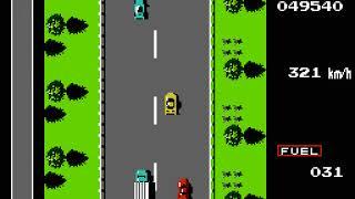 NES Longplay [762] Road Fighter