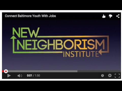 Connect Baltimore Youth With Jobs
