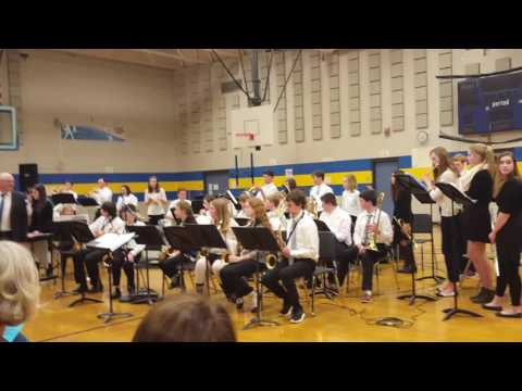 "SMS JAZZ BAND @ SMS, ""Rockin the Boat"", Feat. York Middle School, & Loranger Middle School"