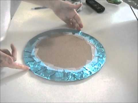 How To Cover A Cake Board Youtube