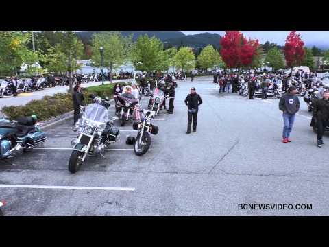 36th Annual Christmas Bureau Motorcycle Toy Run October 05 2014 Bcnewsvideo
