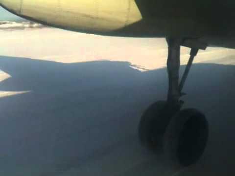AN 24's landing in Batagai, Yakutia, Russia's Siberia