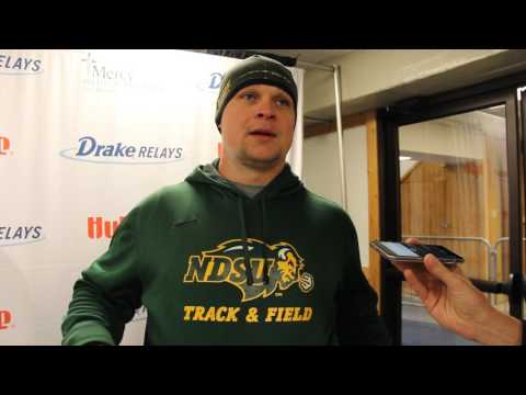Alex Renner, North Dakota State   U/C Men's Shot Put   2017 Drake Relays presented by Hy-Vee