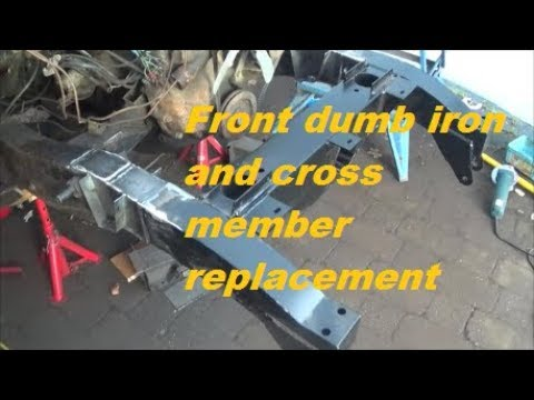 Land Rover Series 3 Restoration – chassis repair
