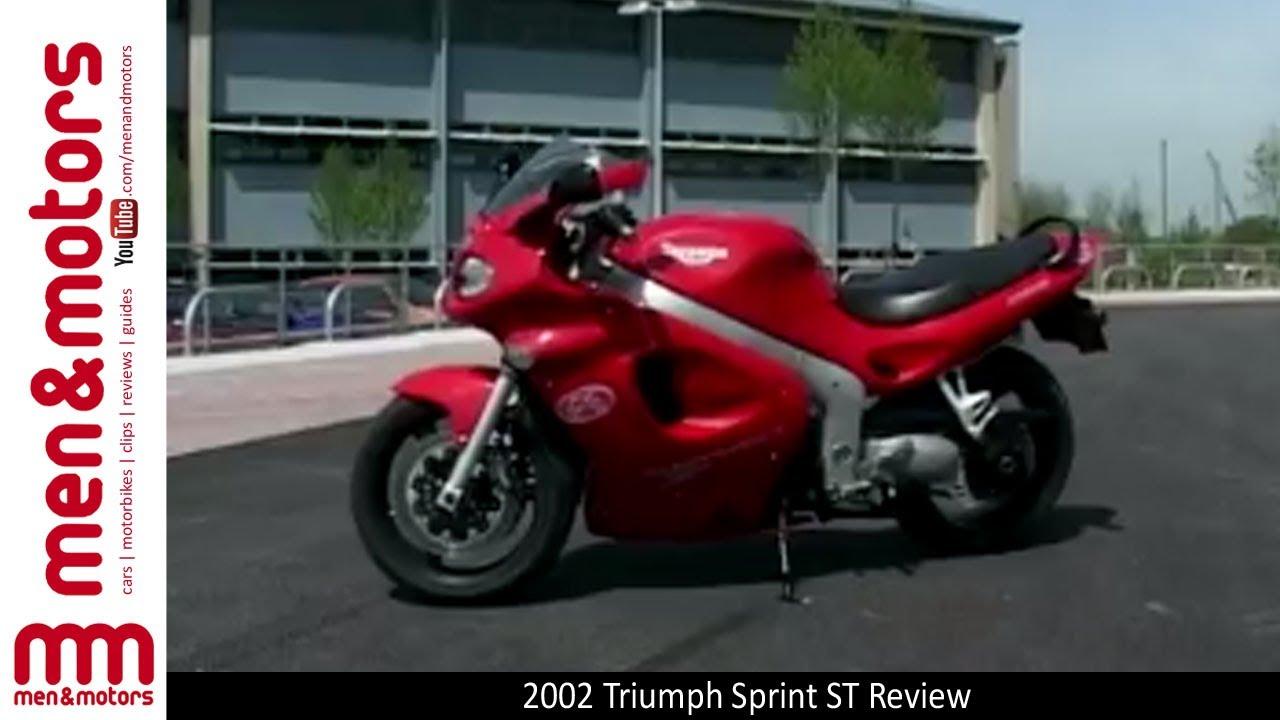 2002 triumph sprint st - brief overview - youtube