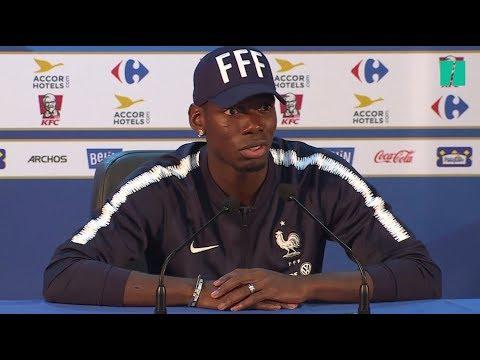 Coupe Du Monde 2018: Paul Pogba Défend Antoine Griezmann