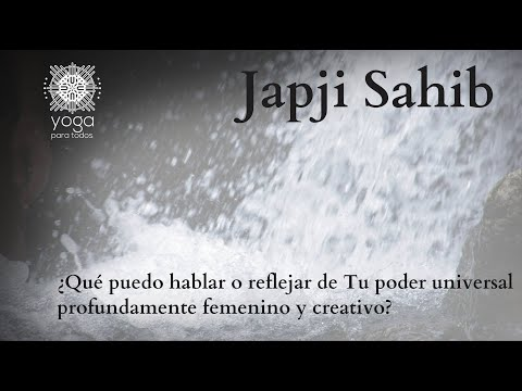 Japji Sahib en español (audio)