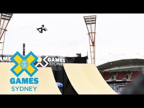Skateboard Big Air Final: FULL SHOW | At X Games Sydney 2018