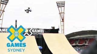 FULL SHOW: Skateboard Big Air Final at X Games Sydney 2018