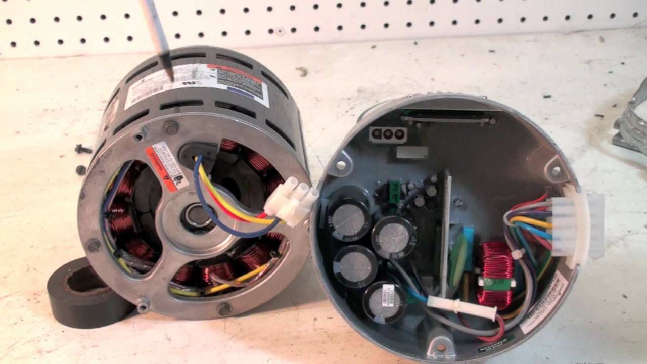 the ecm motor construction and troubleshoot youtube rh youtube com ecm blower motor wiring diagram ge ecm 2.3 motor wiring diagram