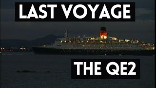 Last Voyage of the QE2 Liner - River Forth - QE2 Cruise Ship - QE2 Final Voyage Student News Report