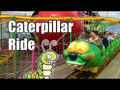 Caterpillar Ride - Wacky Worm - New Brighton Wirral