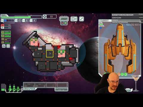 FTL Hard mode, WITH pause, Viewer ships! The Flak ship!
