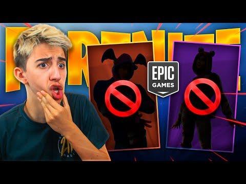 Epic Games CANCELÓ esta SKIN ANTES DE SALIR