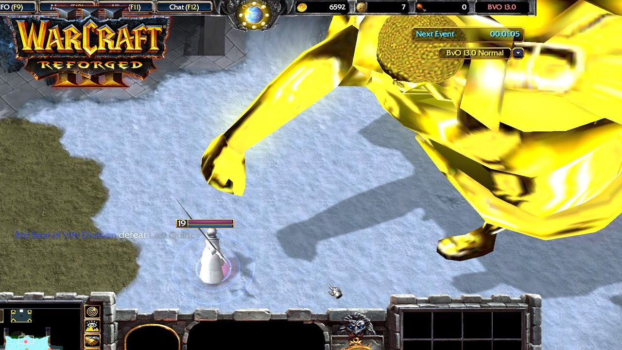 Warcraft III Reforged : Bleach vs One piece - Sengoku