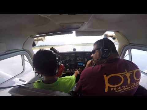 Aden and Aaron fly a plane