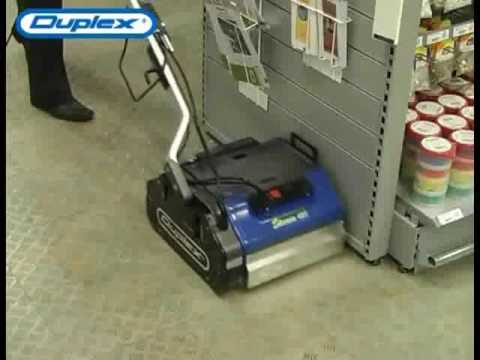 Duplex Floor Scrubbers For Steam Cleaning Floors