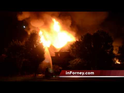 Rockwall County home destroyed in fire