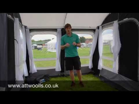 Kampa Rally Pro Awning Review Youtube
