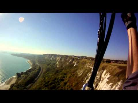 DFHGC Paragliding @ The Warren(Dover - Folkestone Cliff Run)15.10.2011