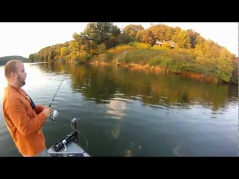 Gopro Hd Hero Bass Fisihng with Matt Pyatt on Melton Hill Lake