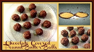 What's For Dessert? Ep. 16 Chocolate Covered Peanut Butter Balls (no Bake Recipe)