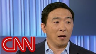 Andrew Yang pressed on support from white nationalists