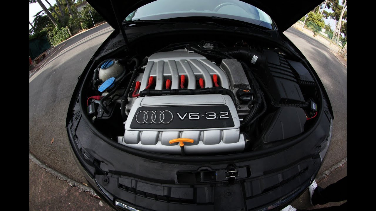 Audi A3 V6 3.2L, Exhaust Sound - YouTube