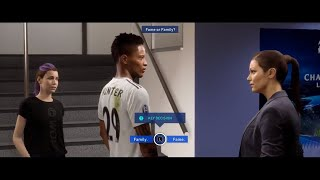 What Happens if Alex Hunter chooses FAME over FAMILY FIFA 19 The Journey